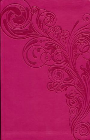 Biblia manual. Ultrafina. 2 tonos. Rosa - KJV (inglés)