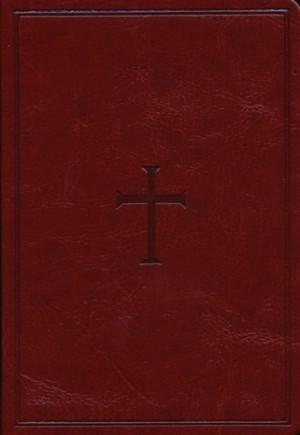 Biblia compacta. Letra grande. 2 tonos. Marrón - KJV (inglés)