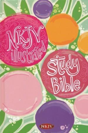 Biblia de estudio ilustrada para niñas. Tapa dura - NKJV (inglés)