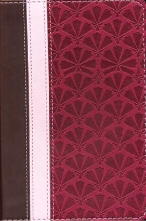 Biblia bolsillo. Ultrafina. Imitación piel. Canela/cereza/malva - RVR60