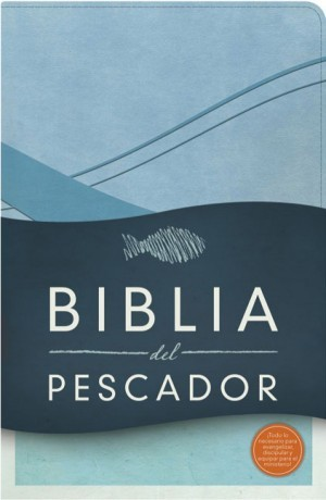 Biblia del pescador. 2 tonos. Azul cobalto - RVR60