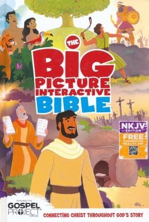 Biblia de estudio para niños The big picture interactive. Tapa dura - NKJV (inglés)
