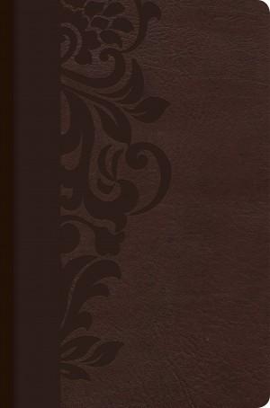 Biblia de estudio para mujeres. 2 tonos. Marrón - RVR60