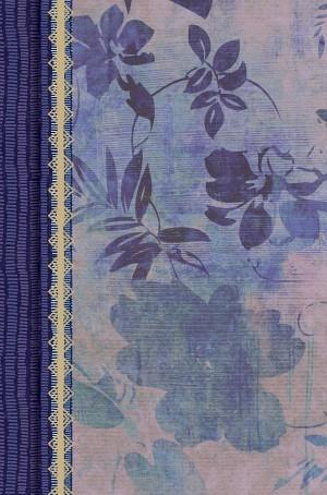 Biblia de estudio para mujeres. 2 tonos. Floral morado. Índice - RVR60