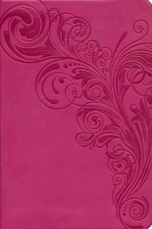 Biblia compacta. Ultrafina. 2 tonos. Rosa - KJV (inglés)