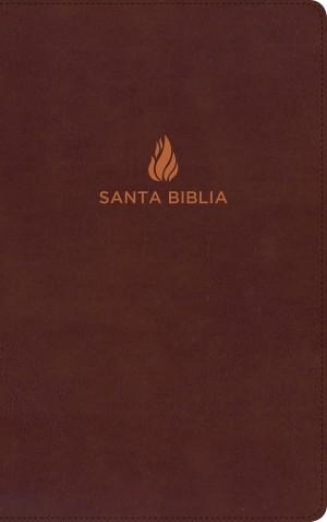 Biblia ultrafina. Piel especial. Rojizo. Índice - RVR60