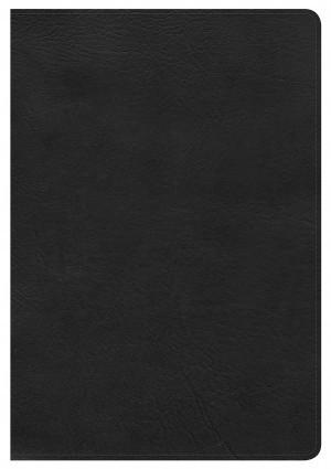 Biblia grande. Letra gigante. Imitación piel. Negro. Índice - KJV (inglés)