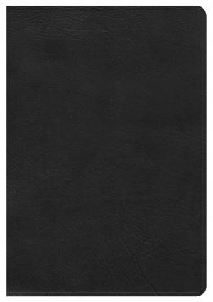 Biblia grande. Letra gigante. Ultrafina. Imitación piel. Negro. Índice - NKJV (inglés)