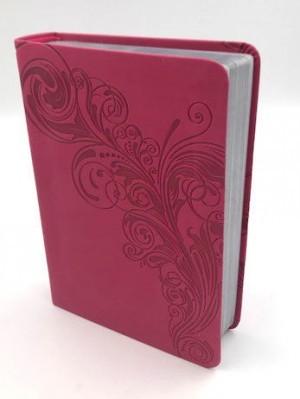 Biblia compacta referencias. Letra grande. 2 tonos. Rosa - RVR60