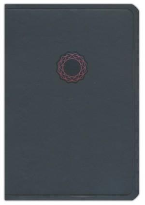 Biblia de regalos y premios Deluxe. 2 tonos. Negro - KJV (inglés)