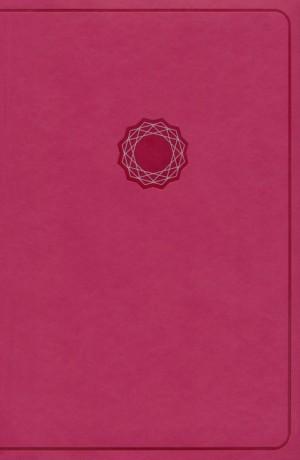 Biblia de regalos y premios Deluxe. 2 tonos. Rosa - NKJV (inglés)