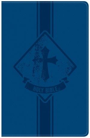 Biblia Kids. 2 tonos. Azul - KJV (inglés)