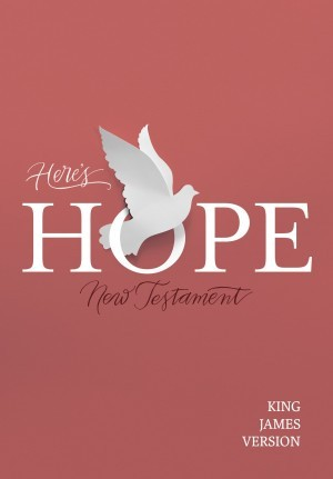 Nuevo Testamento Hay esperanza. Rústica - KJV (inglés)