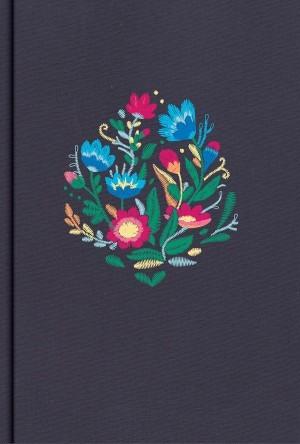 Biblia súper grande. Letra súper gigante. Tapa dura entelada. Flores. Índice - RVR60