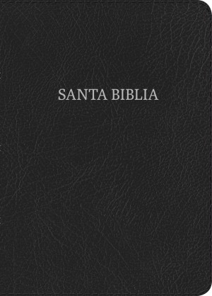 Biblia manual. Letra grande. Piel especial. Negro - RVR60