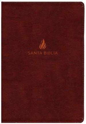 Biblia súper grande. Letra súper gigante. Piel especial. Marrón. Índice - NVI