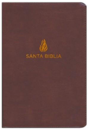 Biblia manual. Letra grande. Imitación piel. Marrón - NVI