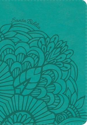 Biblia manual. Letra grande. 2 tonos. Aqua. Índice - NVI
