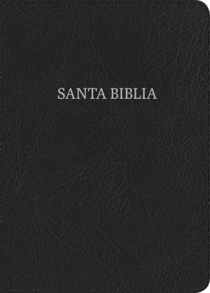 Biblia compacta. Letra grande. Piel especial. Negro. Índice - NVI