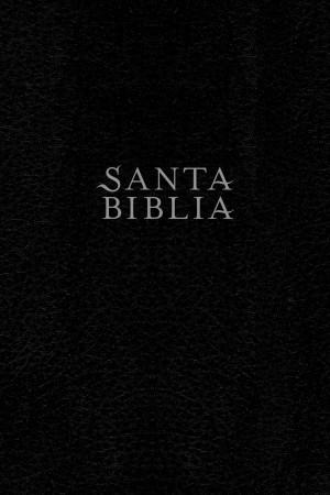 Biblia edición personal. Letra grande. Piel especial. Negro. Índice - NTV