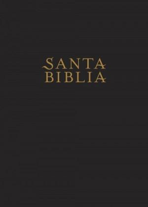 Biblia edición súper gigante. Letra súper gigante. Imitación piel. Negro. Índice - NTV