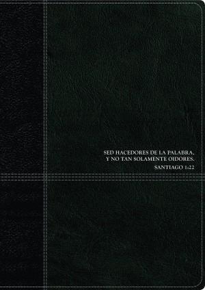 Biblia de estudio del diario vivir. 2 tonos. Negro. Índice - RVR60