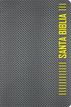 Biblia. 2 tonos. Gris. Cremallera - NTV
