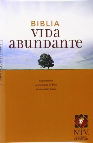 Biblia vida abundante. Letra grande. Rústica - NTV