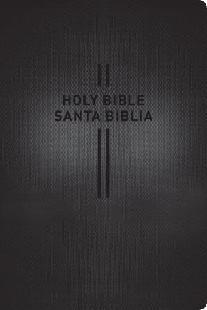 Biblia bilingüe. Grande. 2 tonos. Negro - NTV/NLT