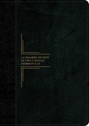 Biblia del diario vivir. Letra grande. 2 tonos. Negro. Índice - RVR60