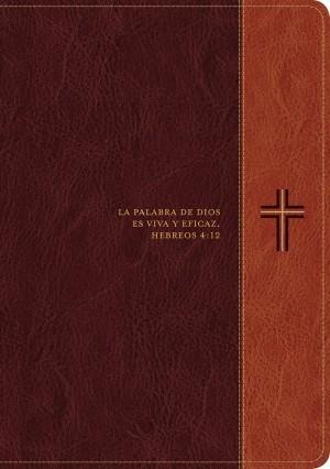 Biblia del diario vivir. Letra grande. 2 tonos. Marrón - RVR60