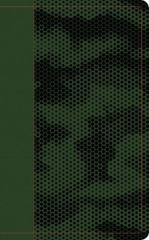 Biblia manual. Ultrafina. 2 tonos. Verde bosque. Cremallera - NTV