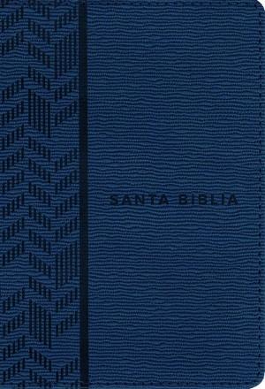 Biblia compacta. Ultrafina. 2 tonos. Azul - NTV