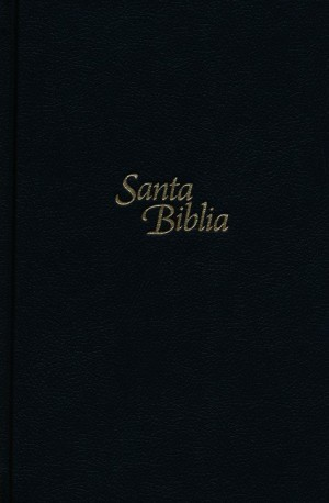 Biblia manual. Letra grande. Tapa dura. Negro - NTV