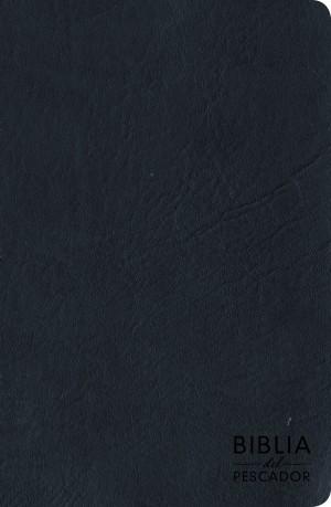 Biblia del pescador. Letra grande. Imitación piel. Azul - RVR60