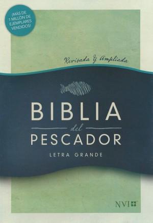 Biblia del pescador. Letra grande. Tapa dura - NVI