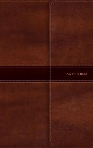 Biblia ultrafina. 2 tonos. Marrón. Solapa magnética - NVI