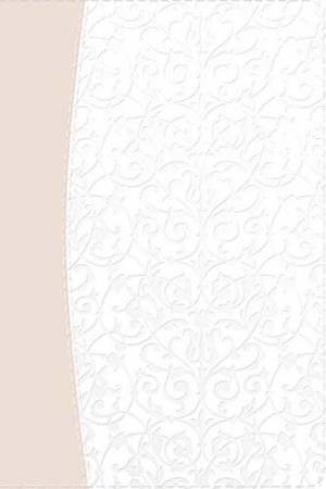 Biblia recuerdo de boda. 2 tonos. Filigrana blanca/rosa palo - RVR60
