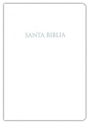 Biblia de regalos y premios. Imitación piel. Blanco - NVI