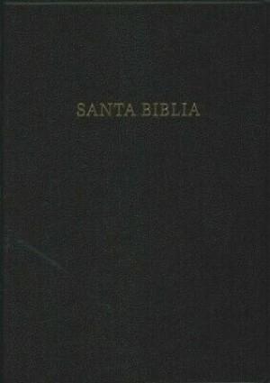 Biblia súper grande. Letra súper gigante. Imitación piel. Negro - RVR60