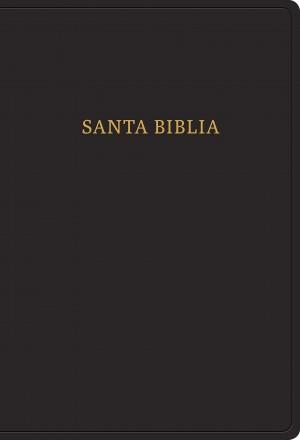 Biblia súper grande. Letra súper gigante. Imitación piel. Negro. Índice - RVR60
