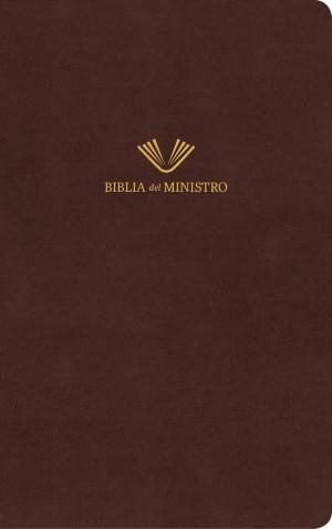 Biblia del ministro. Piel especial. Marrón - RVR60