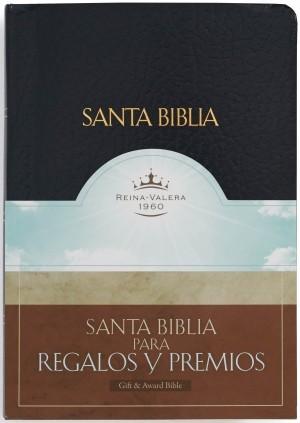 Biblia de regalos y premios. Imitación piel. Negro - RVR60