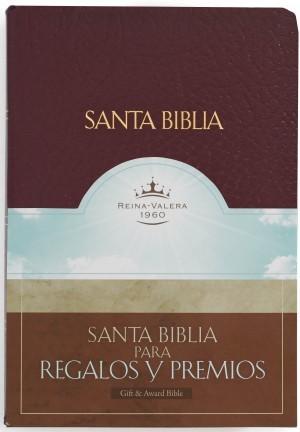Biblia de regalos y premios. Imitación piel. Rojo - RVR60
