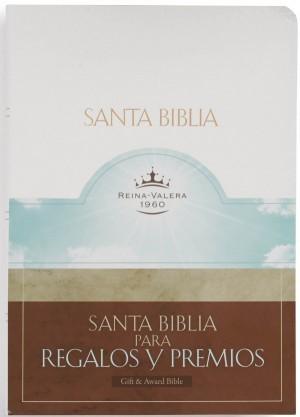 Biblia de regalos y premios. Imitación piel. Blanco - RVR60