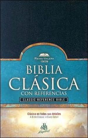 Biblia clásica con referencias. Imitación piel. Negro. Índice - RVR09