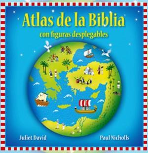 Atlas de la Biblia con figuras desplegables