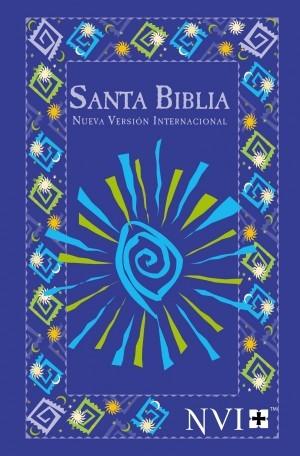 Biblia evangelística. Rústica. Azul fiesta - NVI