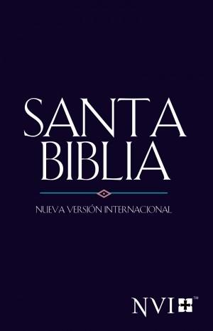 Biblia evangelística. Rústica. Azul - NVI