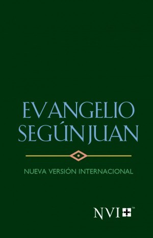 Evangelio según Juan. Rústica. Verde - NVI
